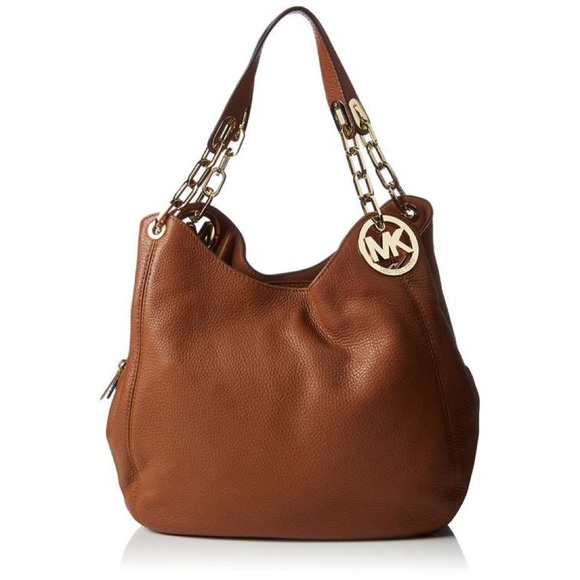 121900d2cf MK Michael kors Fulton large brown purse. M 5b4a88849539f795683d3c2e